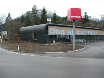 Erdbauarbeiten M-Preis Weißenbach