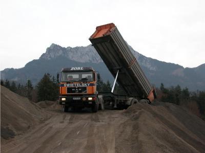 Materialvorbereitung für Autobahn A7