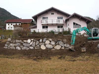 Natursteinmauer Fam. Miller Weißenbach
