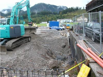 Kanalbau für M-Preis Reutte